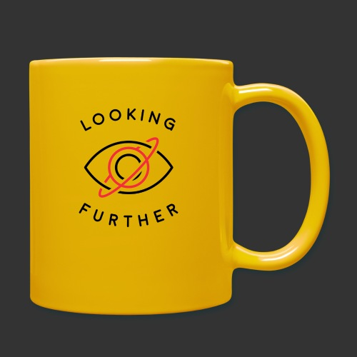 Looking Farther - White - Full Colour Mug
