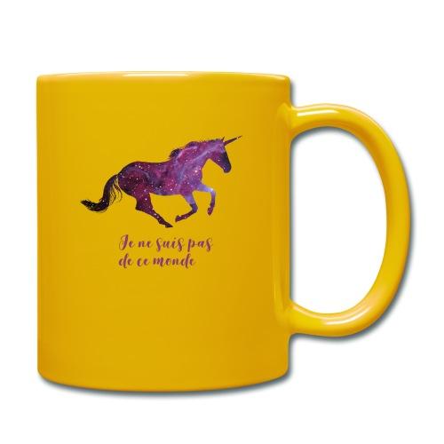 La licorne cosmique - Mug uni