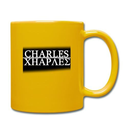 CHARLES CHARLES BLACK AND WHITE - Full Colour Mug