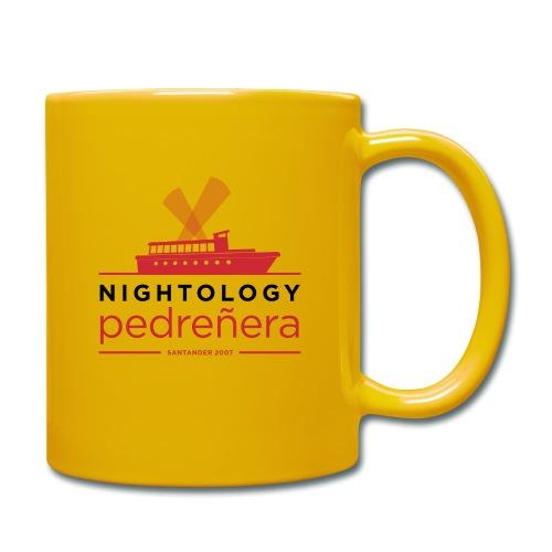 Nightología Pedreñera (colores claros) - Taza de un color