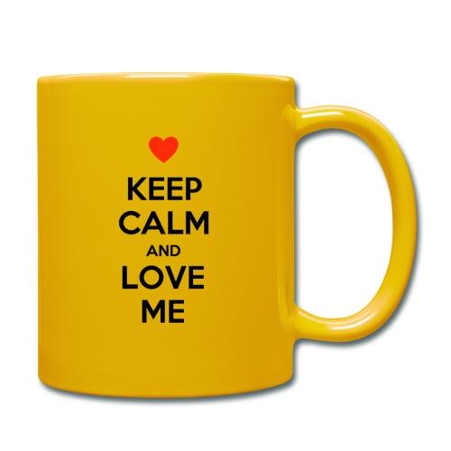 Keep calm and love me - Tazza monocolore