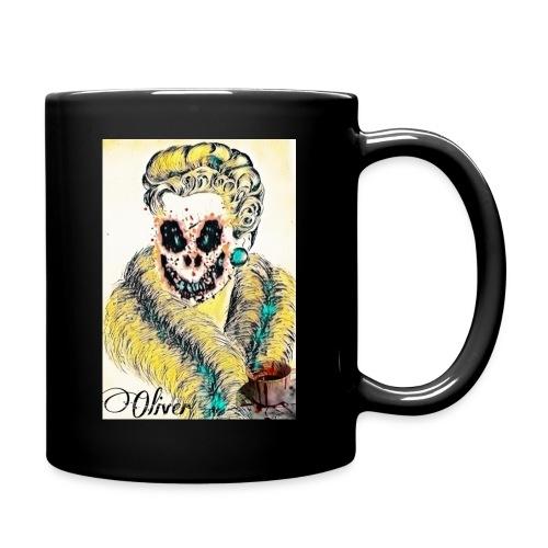 Portrait Femme affrayante - Mug uni