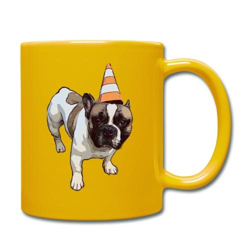 French Bulldog Party - Tasse einfarbig