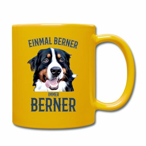 Berner Sennenhund Bern Geschenk Hundehalter - Tasse einfarbig