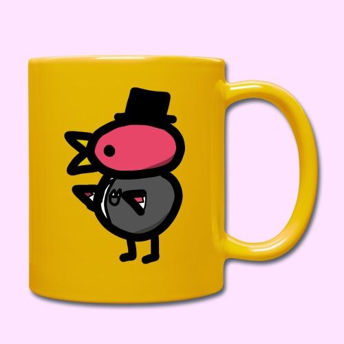 Fancy Pinkguin - Ensfarvet krus