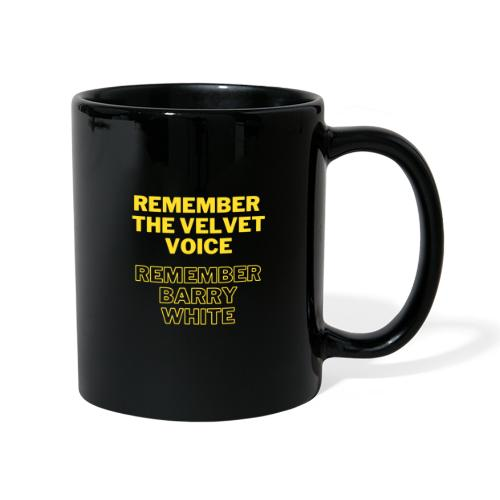 Remember the Velvet Voice, Barry White - Full Colour Mug