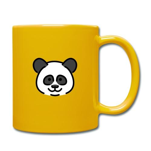 panda head / cabeza de panda - Taza de un color