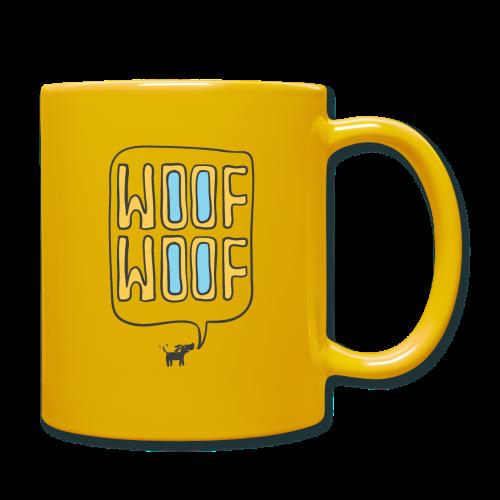Woof Woof - Full Colour Mug