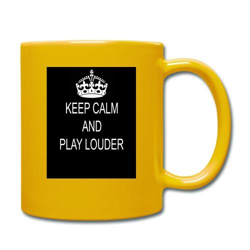 keep calm play loud - Mug uni