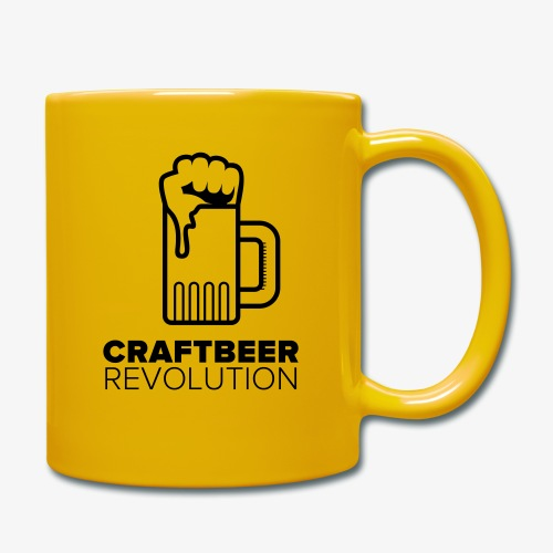 Craftbeer Revolution - Tasse einfarbig