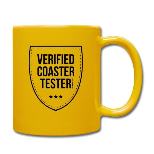 Badge de testeur de montagnes russes vérifié - Mug uni