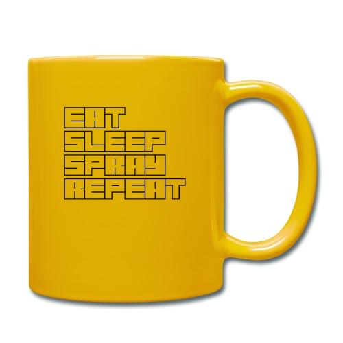 EATSLEEPSPRAYREPEAT - Full Colour Mug