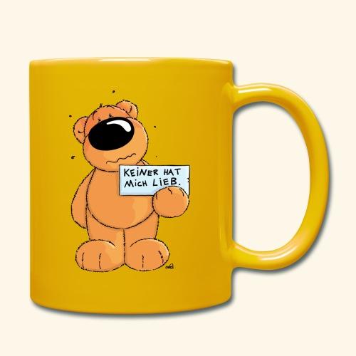 chris bears Keiner hat mich lieb - Tasse einfarbig