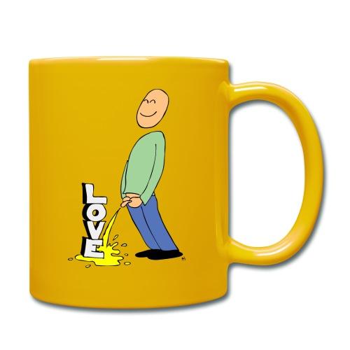tissekopp farge - Ensfarget kopp