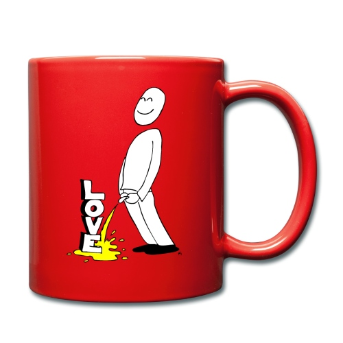 tissekopp original - Ensfarget kopp