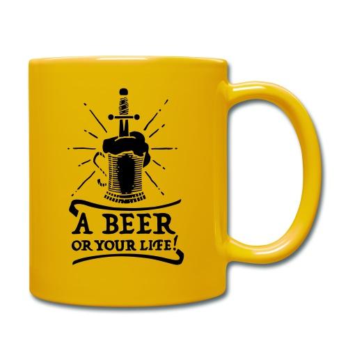 la bière ou la vie - Mug uni