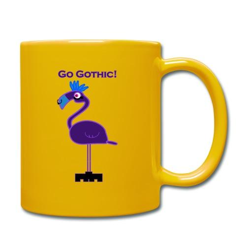Go Gothic Dark Flamingo! - Yksivärinen muki