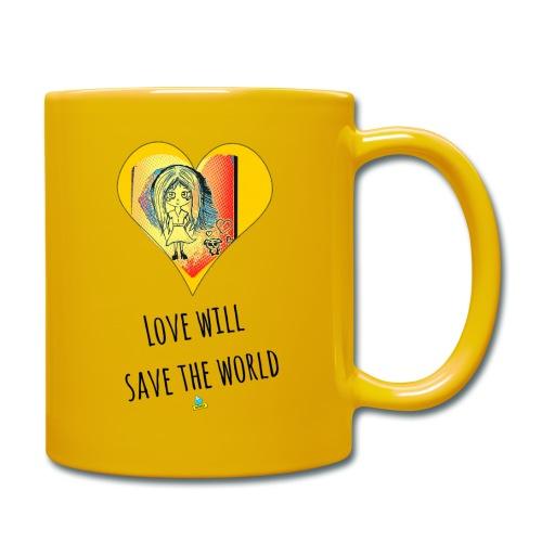 Love will save the world - Tazza monocolore
