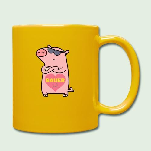 Ich liebe Bauer - Tasse einfarbig