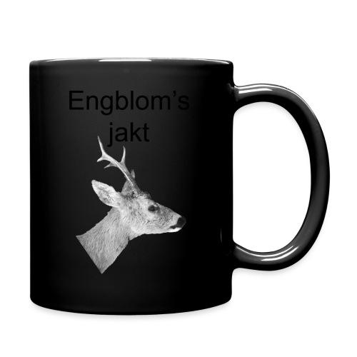 Officiell logo by Engbloms jakt - Enfärgad mugg
