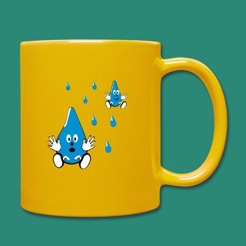 Tropfen - Tasse einfarbig