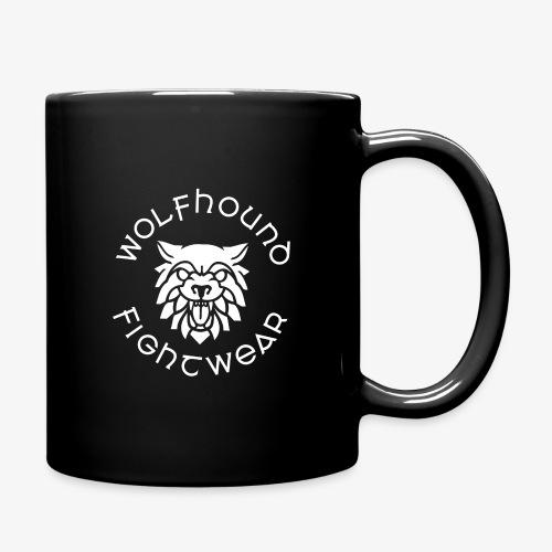 logo round w - Full Colour Mug