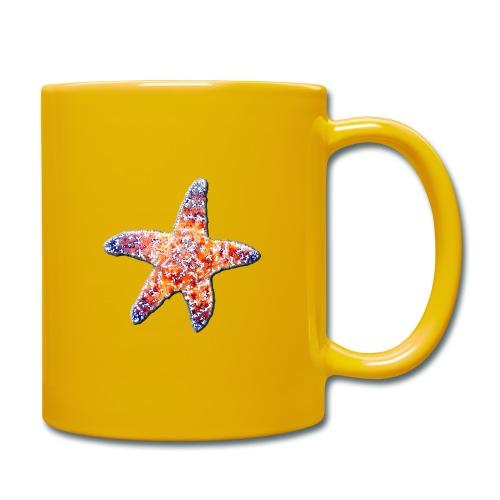 Seestern - Tasse einfarbig