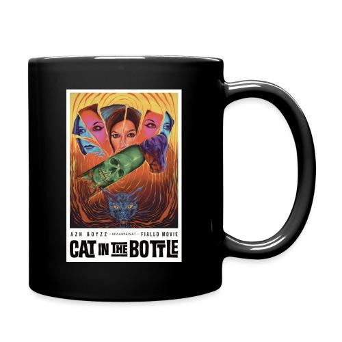 Cat in the Bottle / Kissanpäivät - COLOR (1 print) - Yksivärinen muki