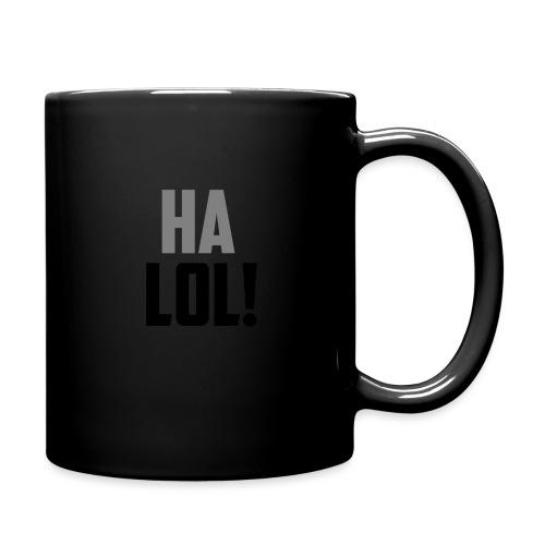The CrimsonAura 'Ha LOL!' Stream Quote. - Full Colour Mug