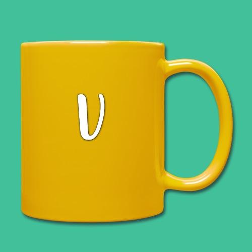 Velosity V Icon - T-Shirt Washed Burgundy Clr - Full Colour Mug