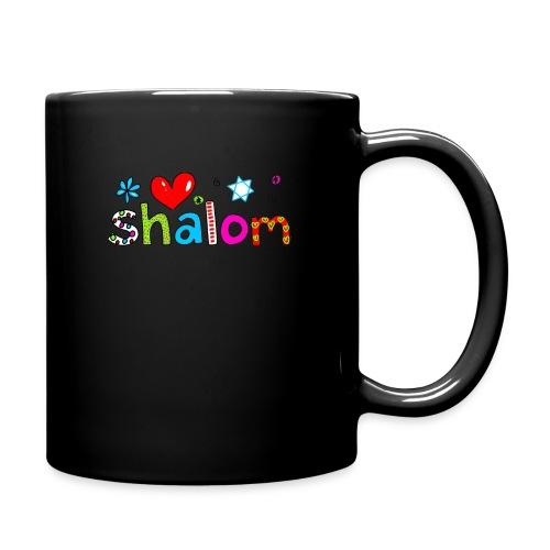 Shalom II - Tasse einfarbig