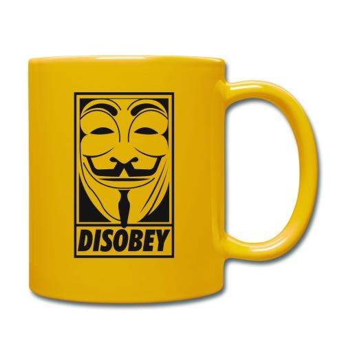 Anonymous disobey - Mug uni