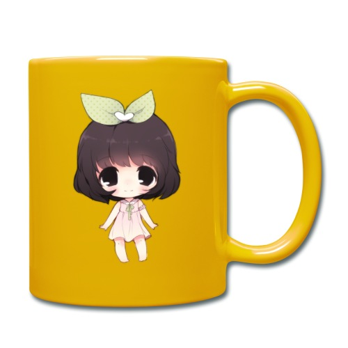 Cute anime girl chibi - Full Colour Mug