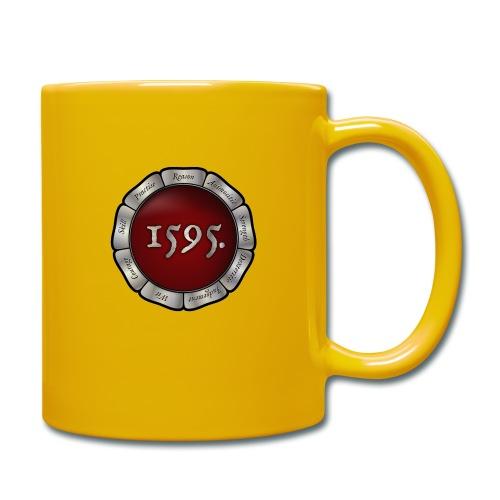 Rose badge - Full Colour Mug