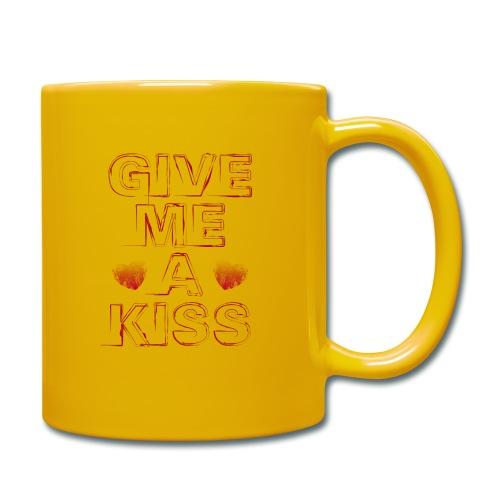 kiss - Tazza monocolore