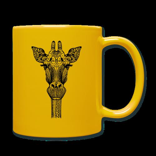 Mandala giraffe - Full Colour Mug