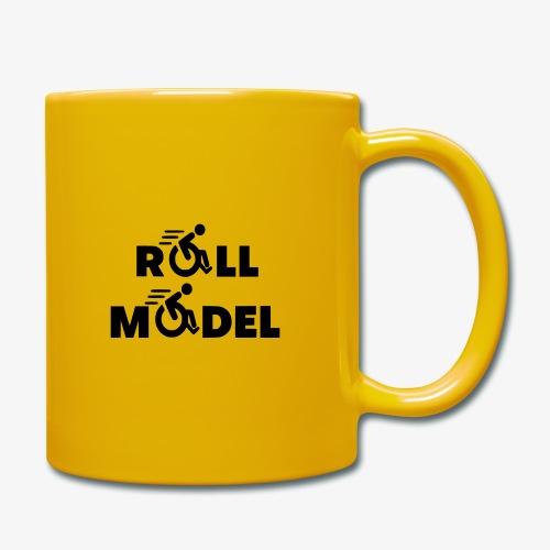 Elke rolstoel gebruiker is een roll model - Mok uni