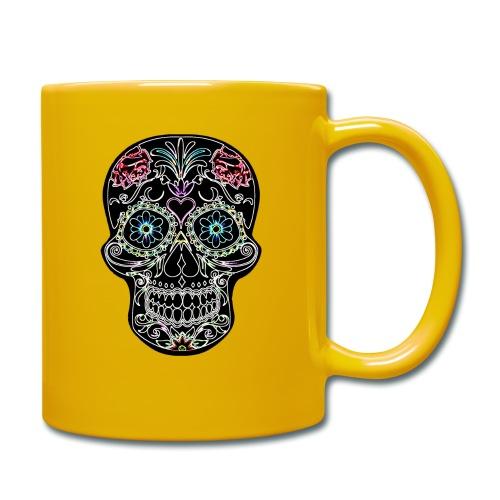 Floral Skull - Full Colour Mug