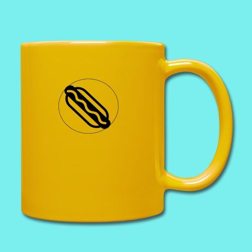 Hotdog logo - Ensfarvet krus
