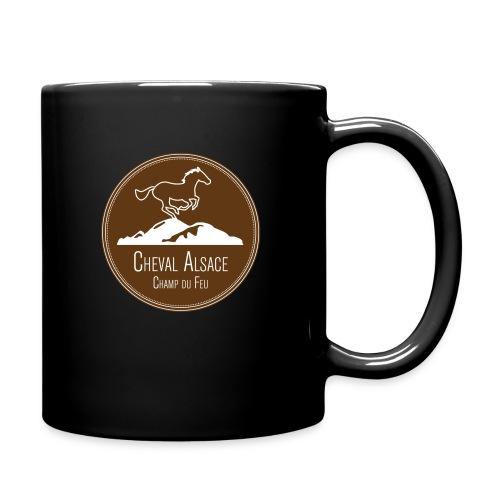 cheval alsace brun - Mug uni
