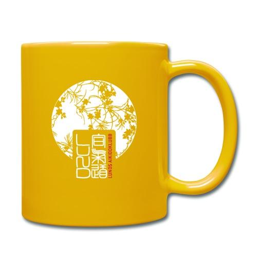 LAK pattern logo - Enfärgad mugg