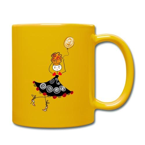 Ballerina con palloncino - Tazza monocolore