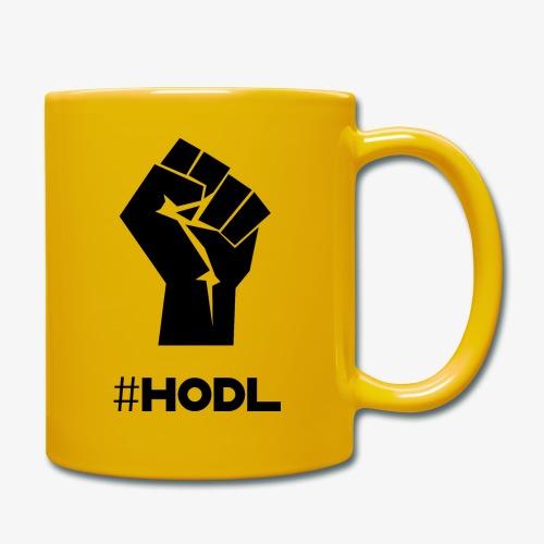 HODL-fist-b - Full Colour Mug