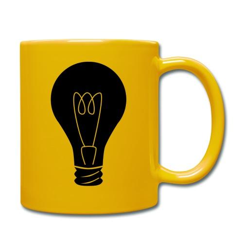 Glühbirne - Tasse einfarbig