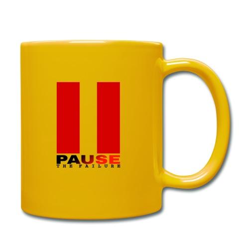 PAUSE THE FAILURE - Mug uni