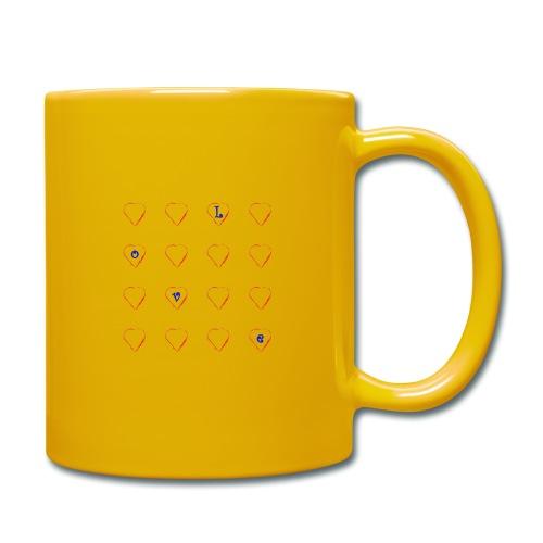 Heart Love #2 - Tasse einfarbig