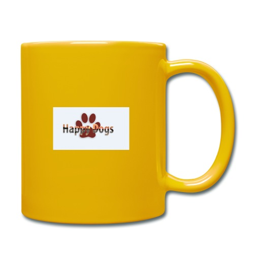Happy dogs - Tasse einfarbig