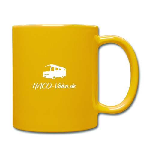 Haco-Video Logo - Tasse einfarbig