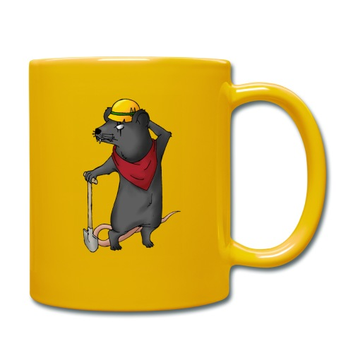 Arbeiter Ratte - Tasse einfarbig