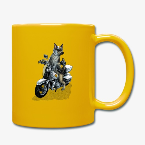Police Dog - Full Colour Mug